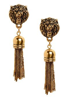 LEO~lions earrings