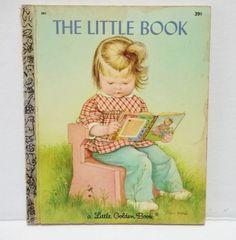 THE-LITTLE-BOOK-Horvath-Wilkin-Vintage-Little-Golden-Book-583-1969-1st-ed