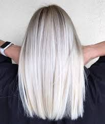 Image result for long straight cut hair, blonde