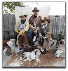 Conestoga Wagon & Cowboys - photo taken by Miss Purdy's Old Time Photos serving the entire State of Texas!