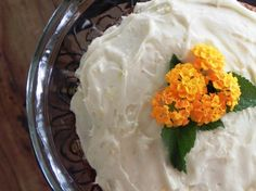 Carrot Cake with Gin