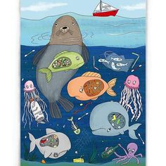 ) I pick up the waste that people (and even students) leave on. Save Our Earth, Save The Planet, Save Planet Earth, Ocean Pollution, Plastic Pollution, Painting For Kids, Art For Kids, Discussion Images, Videos Kawaii