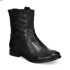 "🚨FINAL PRICE🚨FRYE black leather booties NWT & box. FRYE vintage black leather that has been washed and antiqued for that perfect worn-in look. Mid calf booties. Italian leather, leather lined, leather outsole with rubber insert.  6.5"" shaft height, 11.5"" shaft circumference, 1/2"" heel height. Frye Shoes Ankle Boots & Booties"