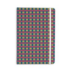 "Empire Ruhl ""Delilah"" Red Pattern Everything Notebook"