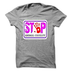 STOP violence against animals T-Shirts, Hoodies. VIEW DETAIL ==► https://www.sunfrog.com/Pets/-STOP-violence-against-animals.html?id=41382