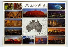 Australia All Over        Jigsaw-Card 194