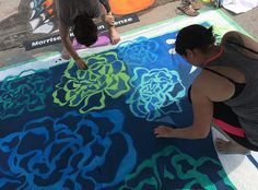 Our associates painted the town in Katalina Blues at the annual Chalk Walk! See the finished product on the blog.