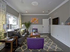 Dreamy Dwelling: Kelly Clarkson's House Tour - TV wall