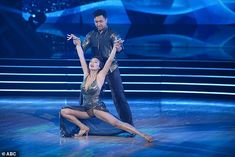 For mom:Jeannie Mai, 41, and Brandon Armstrong, 26, also did a beautiful rumba to Des'ree's Gotta Be, which Jeannie dedicated to her mother, who fled Vietnam on a boat in 1977
