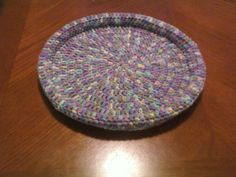 Crocheted Pet Bed (for your own pet and shelter projects)