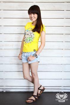Tikii Brand, Notii Run Way, Tee Shirt Design, Tikilala Tee Shirt. #Tikii #NotiiRunWay #TeeShirt #Tikilala