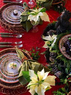 Pretty Christmas Table