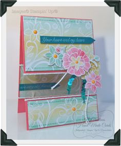 My Irresistibly Floral DSP Card Creation   The theme today is CASEing ...   In am sure most of you understand what CASEing is...For those t...