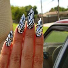 "6,908 Likes, 122 Comments - Tony's Nails (@tonysnail) on Instagram: ""When you get nails like this no need mirror lol @masterminx @minxnails"""