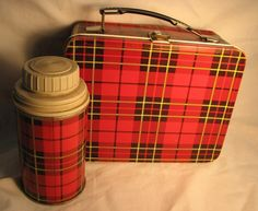 do you remember 50's   50's Lunch Box