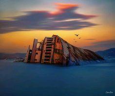 shipwreck near Eleusis