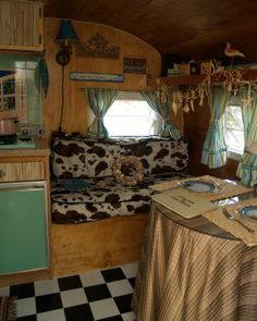 decorating ideas for campers, vintage trailers, vintagedream car, dream camper, vintage airstream interiors, vintage travel trailers, vintag camper, vintage decor, vintage campers