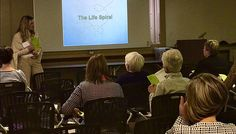 Encore years expert helps guide women at career transistions event held at Aquinas College.
