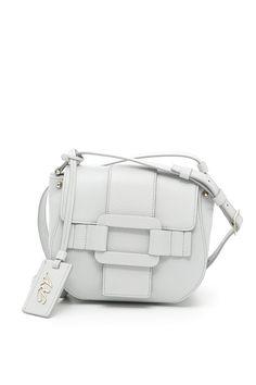 ROGER VIVIER PILGRIM DE JOUR BAG.  rogervivier  bags  shoulder bags  leather   charm  accessories  lining   d622109585682