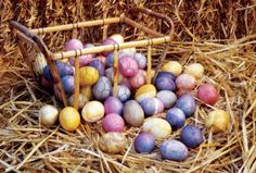 Natural Dye Recipes for Easter Eggs