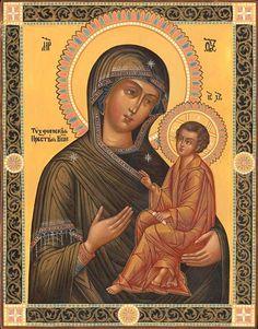 Рожденные с 23 ноября по 21 декабря должны просить заступничества у икон Божьей Матери «Тихвинская» и «Знамение». Святой Николай Угодник и святая Варвара - их ангелы-хранители