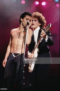 Prince and Wendy Melvoin of The Revolution - Parade Tour 1986