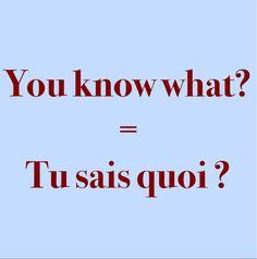 Pronunication: http://soundcloud.com/edi/you-know-what-tu-sais-quoi