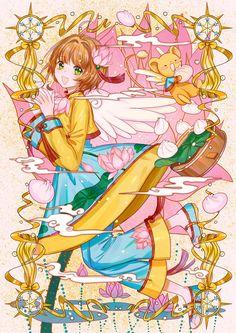 Of fire and waves: Photo Manga Anime, Anime Art, Tomoyo Sakura, Sakura Card Captor, Chibi, Haruhi Suzumiya, Clear Card, Pokemon, Kawaii