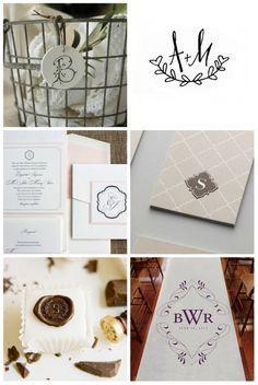 Monograma de Casamento- Como Fazer | Clube Noivas