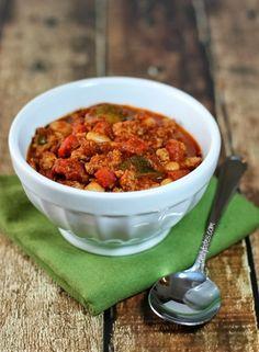 The Best Turkey Chili