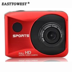 (38.15$) Watch here - 1080P HD 30FPS Action Camera 8 Digital Zoom 110D Wide Lens Action Cam 2.0 Touch Screen Waterproof Sports Camera with Remote