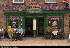 Mrs Pumphrey's coffee shop and sandwich shop at Leyburn in North Yorkshire , England