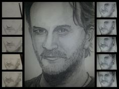 A4 Pencil drawing. Richard Speight Jr