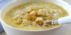 Франция на столе. №1 Сырный суп (Soupe au fromage) #France #recipes #gastronomy