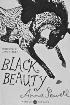 Found a great edition of Black Beauty at @Anthropologie this weekend. Love at first sewn touch.