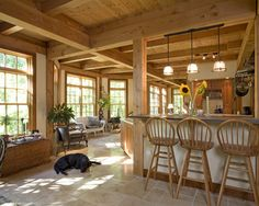 mountain home kitchen