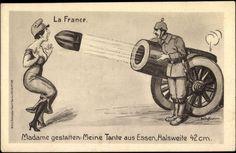 Bad humor 100 years ago