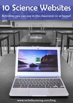 10 Science Websites | Rachel K Tutoring Blog