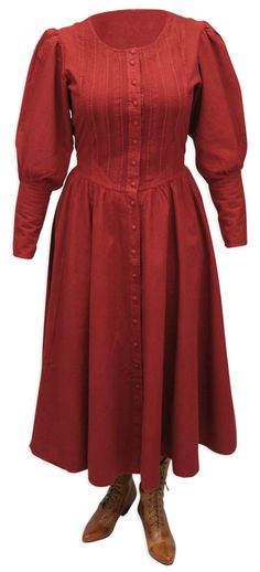 Cordelia Pioneer Dress - Wine