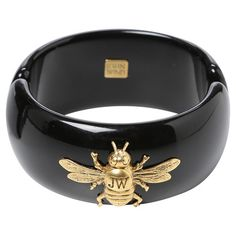 Add+a+classic+finishing+touch+to+your+favorite+ensembles+with+this+chic+cuff+bracelet,+featuring+a+bee+embellishment.+  Product:+...
