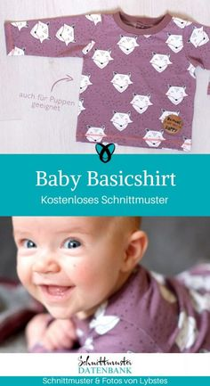 Baby Basicshirt Baby Basicshirt,Nähen Baby Basicshirt – Schnittmuster Datenbank Related Trendy Irish Dancing Humor BalletHow to Discipline a Child Without Yelling: 14 Positive Parenting TipsSocial Media - Control Alt WebTattoo ideas finger style. Baby Sewing, Free Sewing, Diy Couture Cadeau, Sewing Patterns, Crochet Patterns, Diy Bebe, Baby Pullover, Stuffed Animal Patterns, Sewing Techniques