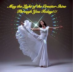 When You Dance, Sing ,Worship, May the Light Of the Creator Shine Through You Today!!! http://4everpraise.com #dance #praisedance