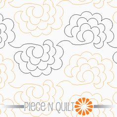 Roses Pantograph Pattern - Paper. Get this for my next quilt!