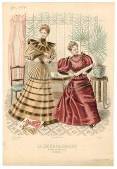 1893-1894, Plate 079 :: Costume Institute Fashion Plates