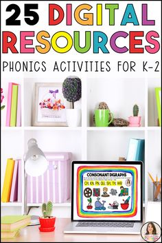 E learning for kids (Digital Learning) is a perfect way to provide kids with the opportunity to learn anywhere, anytime! These are MUST HAVE to help build strong phonics and phonemic awareness skills. You can also send these to individual students, your class or use at home with your kids!   #digitallearning #digitalresources #boomcards #phonics #phonemicawareness #digraphs #consonantdigraphs #literacyteacher #elearningforkids