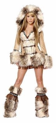 The Eskimo Sexy Adult Costume