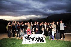 meditaion mount #LA #mediation # kanji #calligraphy