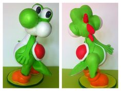 Fofucha Yoshi. Personaje de la saga de Súper Mario Bross