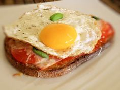 Tartine express jambon, tomate et oeuf : la recette facile#addToBook#addToBook#addToBook