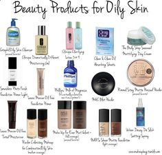 Products for oily skin - my skin gets oily within a few hours after having foundation/powder on. I already have the clean and clear blotting paper (which helps), and the Urban Decay setting spray which is also awesome for special occasion! | fashion-style.co